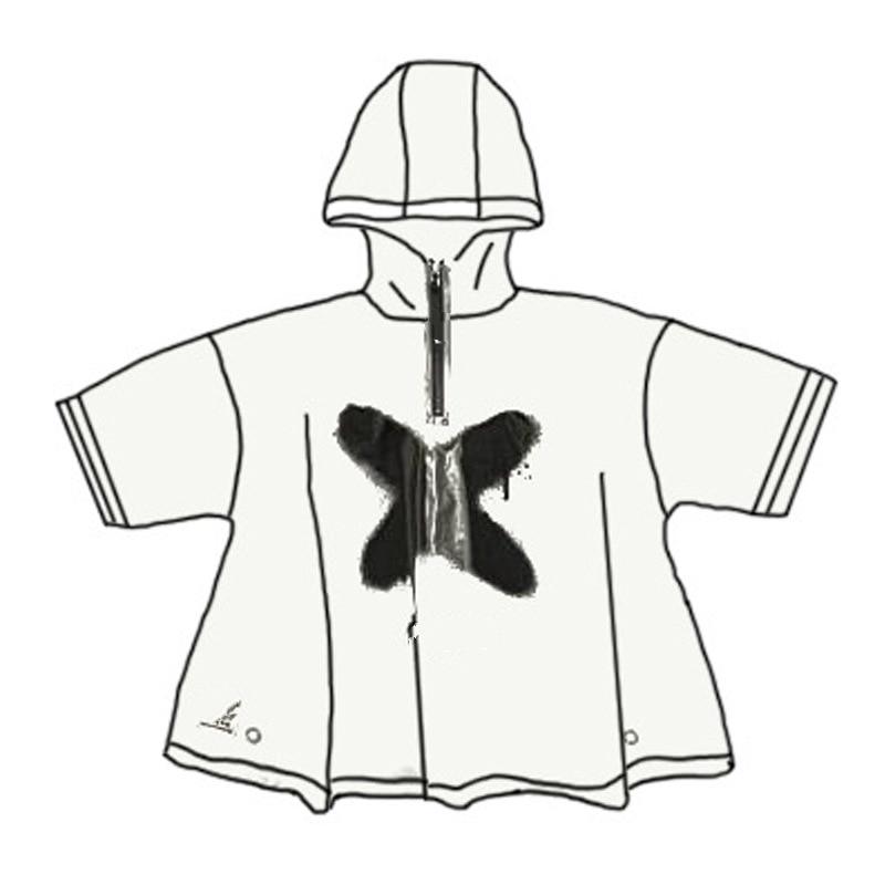 Fashion PVC Kids Raincoat Waterproof Rain Poncho Clear Transparent Tour Children Raincoat Student Rainsuit Protective Covers 2