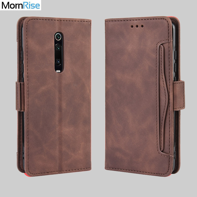 Wallet Cases For Xiaomi Redmi K20 Case Magnetic Closure Book Flip Cover For Redmi K20 Pro Leather Card Photo Holder Phone Bags