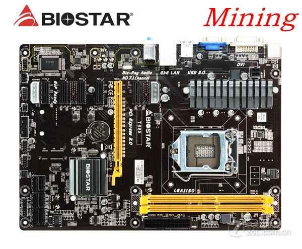Biostar TB360-BTC PRO Scheda madre per il mining