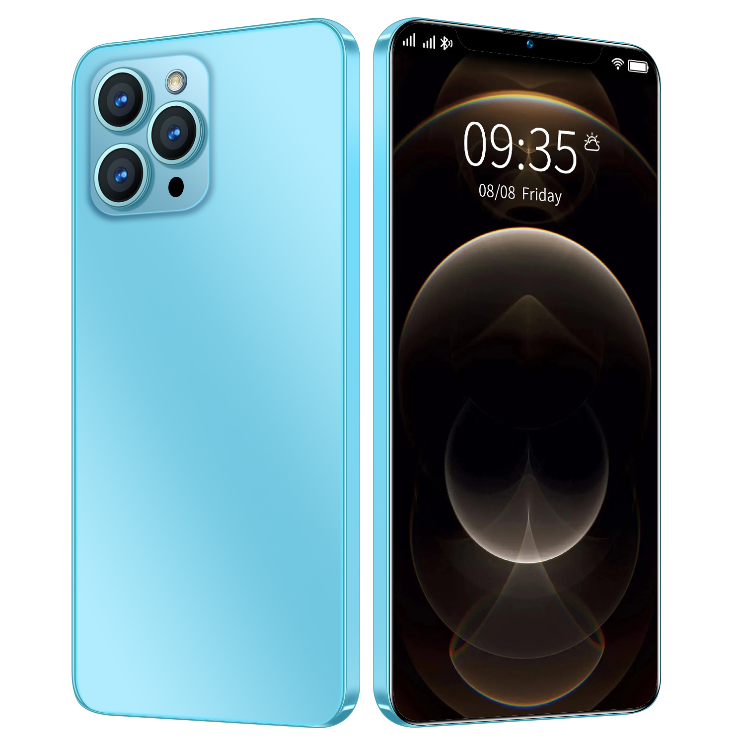 6.7inch i12 Pro Max 12 GB 512 GB 24MP+48MP 5g Cellphones Smartphones Android 10 5800mAh 10 Core Really Telephone MTK6889 Face ID 3