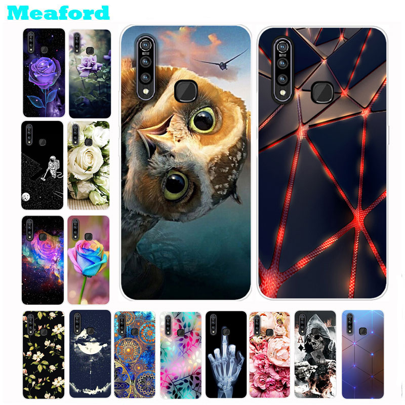 For Vivo Z1 Pro Case Silicone Cute Owl Soft TPU Phone Case for Vivo Z5X Z 5X Z5 X Back Cover 6.53