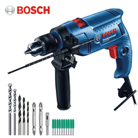 Bosch high quality electric drill household impact drill GSB550 multifunction electric screwdriver manual drill DIY power tool