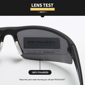 Image 2 - RoyalHot Men Women Polarized Diamond Grid Frame Sports Sunglasses Vintage Sun Glasses Retro Eyewear Shades Oculos Male 900177