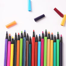 36/24/18/12 não-tóxico cor lavável aquarela crianças pintura suprimentos crianças arte caneta marca pintura escova caneta