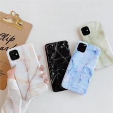 Có Nắp Gập Giá Đỡ Bóng Đá Cẩm Thạch Ốp Lưng Điện Thoại iPhone 7 6 6S 8 Plus 12 Mini 11 Pro X XS MAX XR 8 Plus Se 2 Trường Hợp Coque Vỏ