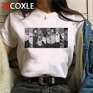 Naruto Summer Harajuku Cool Tshirt Unisex 90s T Shirt Japanese Anime Funny Cartoon T-shirt Streetwear Hip Hop Top Tees Male(China)