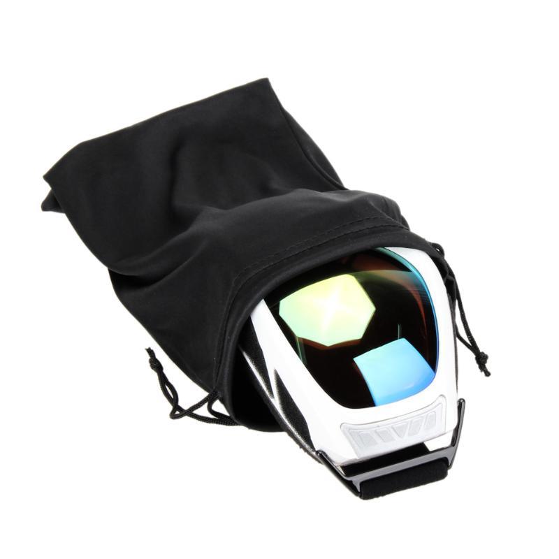 Устойчивые к царапинам лыжные очки защитный мешок очки пыленепроницаемый нейлоновый мешок для хранения подходит для большинства моделей аксессуаров для очков