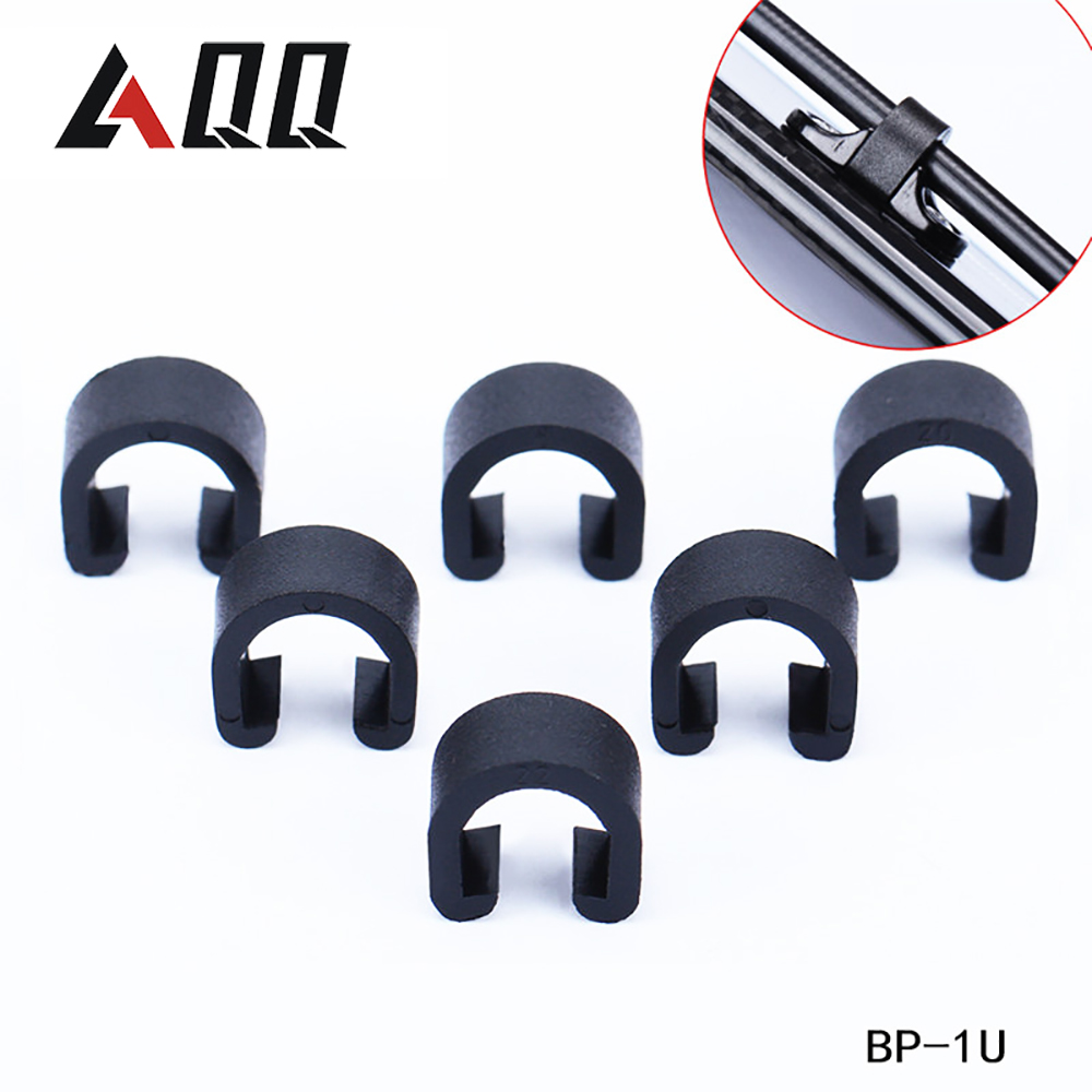 50/100pcs Jagwire MTB Bike C-Clips Buckle Hose Brake Line Gear Cable Housing Guide Brake Deduction Bicycle Accessory Cables