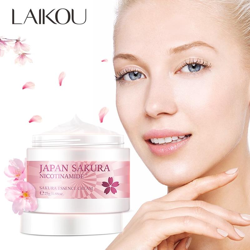 LAIKOU Japan Essence Face Cream For Face Hyaluronic Acid Moisturizer Anti Wrinkle Anti Aging Serum Whitening Cream Skin Care 25g