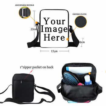 LALIN Black Nurse Print Small Shoulder Bag Afro Women Handbag American Africa Ladies Casual Totes Girls Crossbody Bags Bookbag