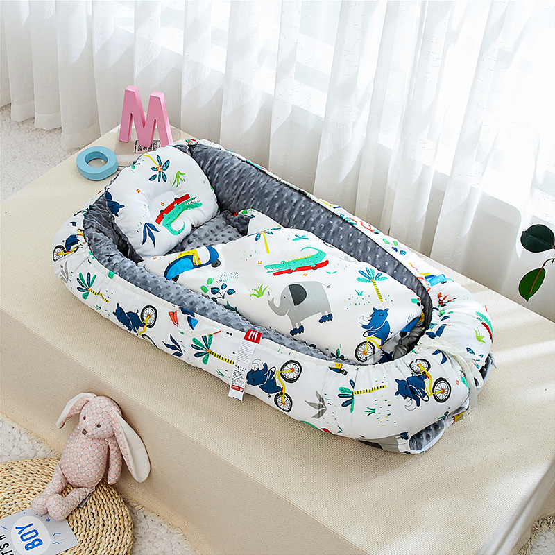 Baby Bag Portable Newborn Biomimicry Multifunctional Emperorship Solidder Nursery Foldable Travel Bed With Bumper Cot Mattress