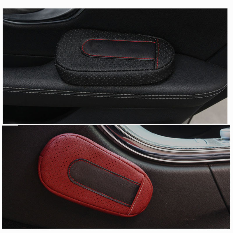 Leather Universal Auto Leg Cushion Knee Pad Car Door Arm Pad For All Car Car Accessories Vehicle Protective Car Styling