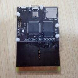 Новейший игровой картридж PCE Turbo GrafX 500 в 1 для PC-Engine Turbo GrafX, игровая консоль, карта