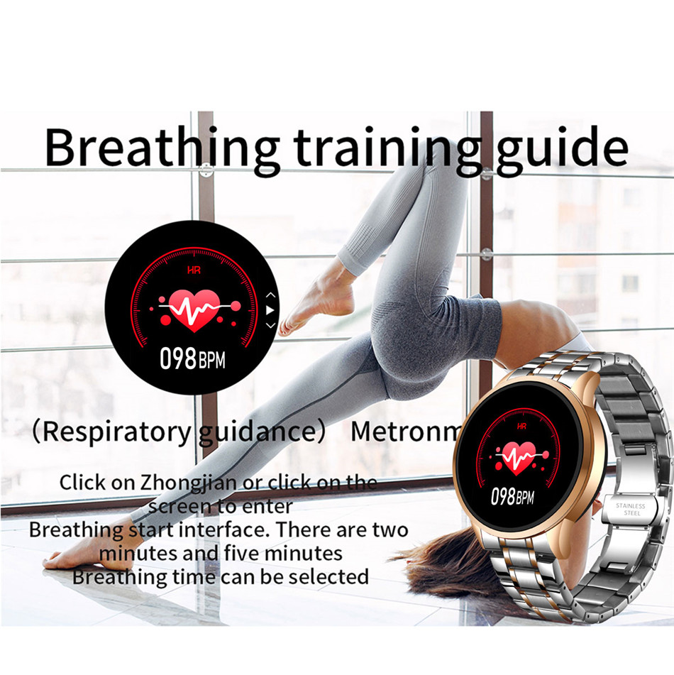 H3b462a34304a4d77bec53351ded9b7dc6 LIGE 2020 New Smart Watch Men Heart Rate Blood Pressure Information Reminder Sport Waterproof Smart Watch for Android IOS Phone