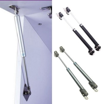 цена на 2Pcs 100N/22.5lb Hydraulic Gas Spring Gas Lift Support Cabinet Hinge Kitchen Cupboard Door Gas Spring Door Shocks