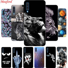 Funda For Samsung Galaxy A50 Case 6.4 Cool Print Black Silicone Soft Phone A 50 Back Cover TPU Coque