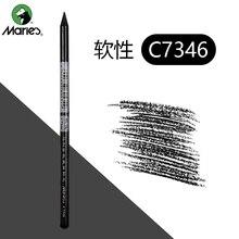 Pencil Charcoal-Sticks Manga Artist Professional Sketch Whole-Lead-Core 2-Grades Soft/medium