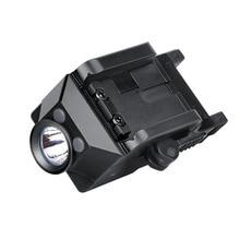 Trustfire gm21 전술 손전등 무기 빛 usb 충전식 권총 빛 사냥 헤드 라이트 glock picatinny 총기
