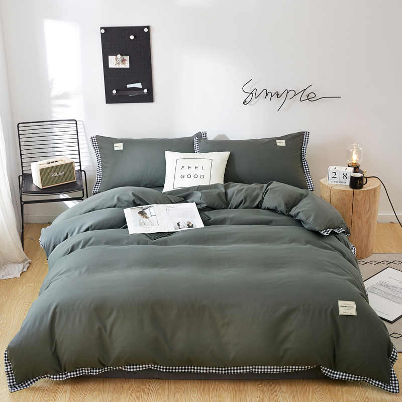 Dropshipping Bedding Set Queen Size Plant Home Bedding Single Bed