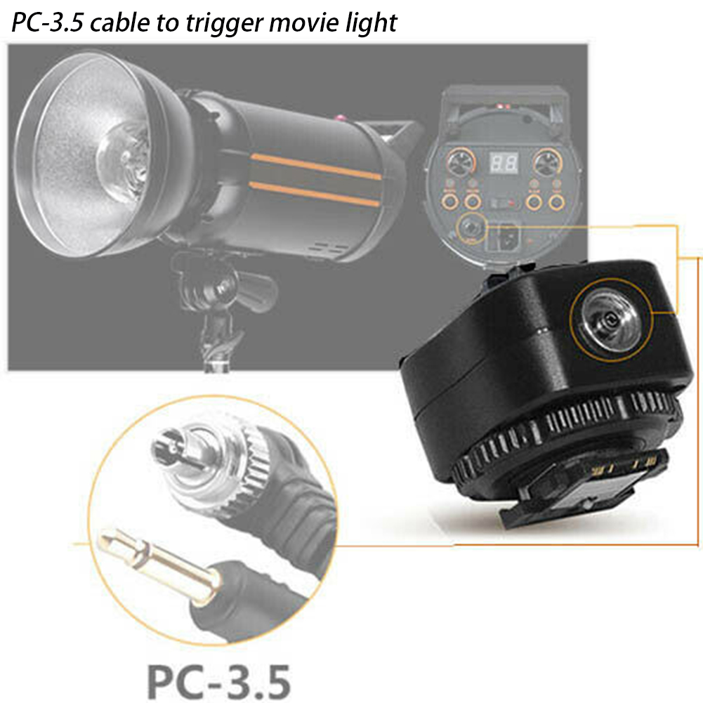 TF 334 камера аксессуар для вспышки Горячий башмак адаптер Speedlite Замена конвертер крепление студийный Светильник Запчасти для sony A7 RX1