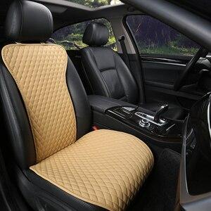 Image 3 - קל נקי לא מהלכי רכב מושב כריות, אוניברסלי עור מפוצל ללא שקופיות עמיד למים מושבי כיסוי מתאים לlada Granta E1 X36