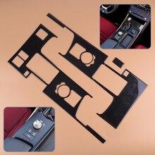 все цены на DWCX Plastic Carbon Fiber Texture Gear Shift Box Panel Cover Trim Frame Fit For LEXUS IS250 IS350 2014 2015 2016 2017 2018
