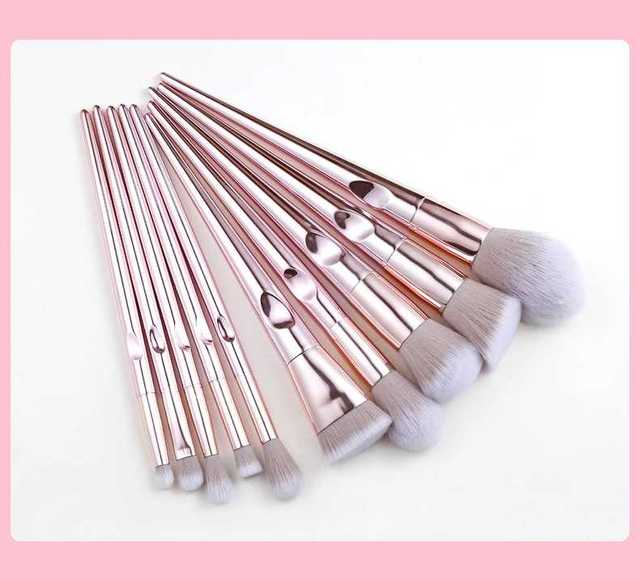 MB02 special designed Popular Eyebrow Eyeshadow Makeup brushes Set easy hold 4