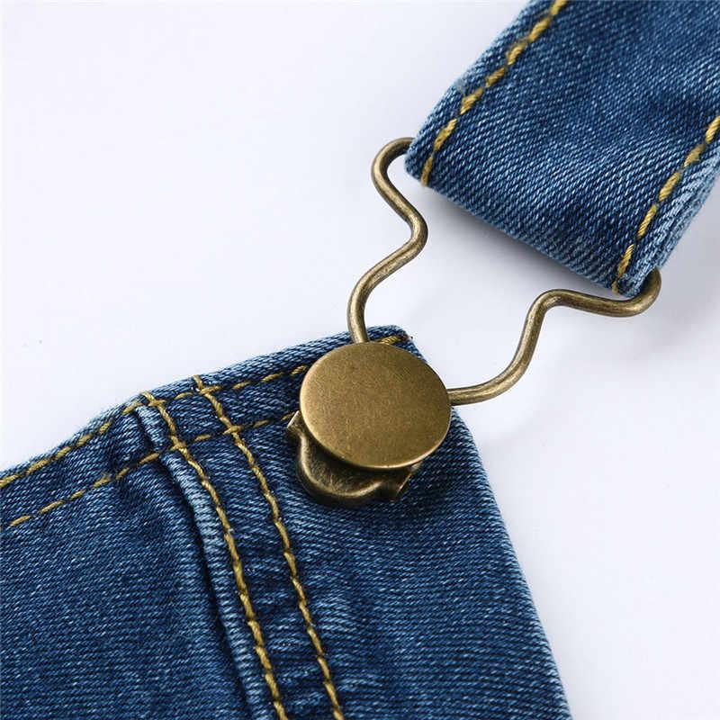 Бесплатная доставка, новинка 2019, модный джинсовый комбинезон на лямках, повседневные свободные штаны размера плюс 5XL, комбинезон и комбинезон, брюки 11