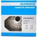 Оригинальный велосипед Shimano Alivio CS-HG400-9 9-скоростная велосипедная кассета freewheel