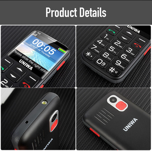 "Image 5 - WCDMA 3G רוסית מקלדת טלפון נייד זקן SOS כפתור 1400mAh סוללה 2.31 ""נייד פנס לפיד נייד טלפון קשישים"