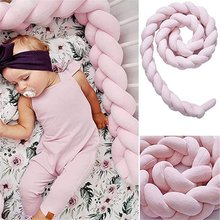 Pillow Guardrail-Decoration And Bed-Fence Weaving Braided Long-Knotted Three-Strand Children's