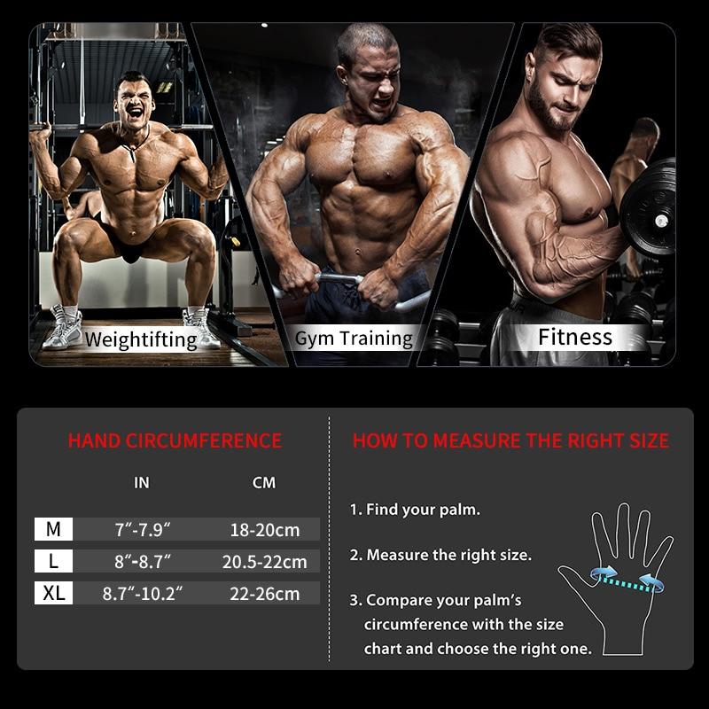 Купить с кэшбэком TMT Sports Fitness Weight Lifting Gym Gloves Training Fitness bodybuilding Workout Wrist   Wrap Exercise Glove for Men Women