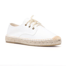 2020 New Arrival Time-limited T-strap Hemp Rubber Lace-up Casual Zapatillas Mujer Casual Sapatos Womens Espadrilles Flat Shoes