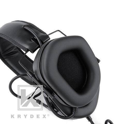 krydex fone ouvido tatico com micphone