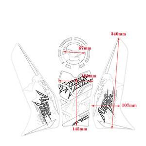 Image 5 - Aufkleber für Honda CRF1100L CRF 1100L Afrika Twin 2020 Motorrad Kraftstoff Tank Pad Seite Box Knie Pad Scratch Schutz Aufkleber