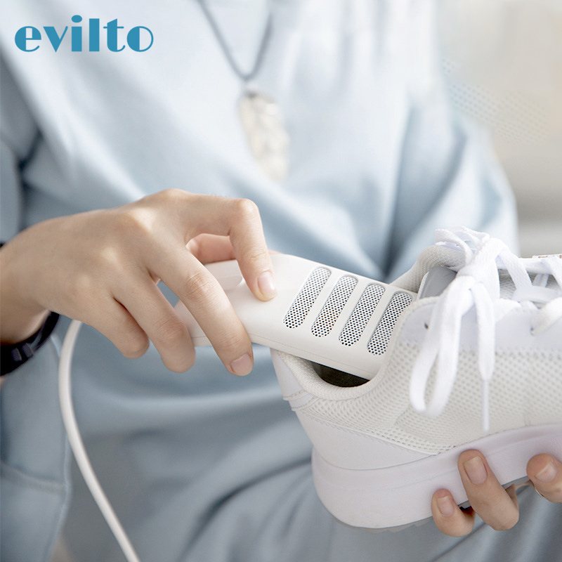 Evilto USB Shoes Dryer Heating Mats Foot Warmers Deodorant Dehumidifying Device Eliminate Bacteria Deodorize Shoes Drier Heater