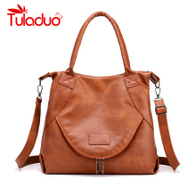 HOT Womens Handbags Designers Luxury Soft PU Leather Casual Tote Female Vintage Women Bags Sac A Main Brand