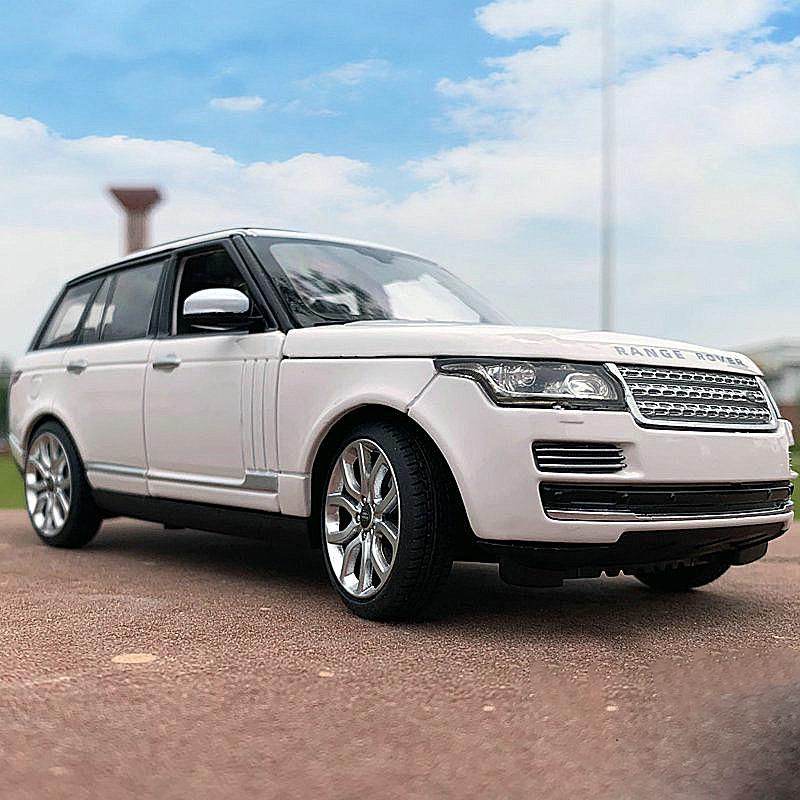 1:24 Range Rover Alloy Car Model Toy Factory Simulation Off-road SUV Collection Gift Ornaments Toy Car > 8 Years Old Boys Toys