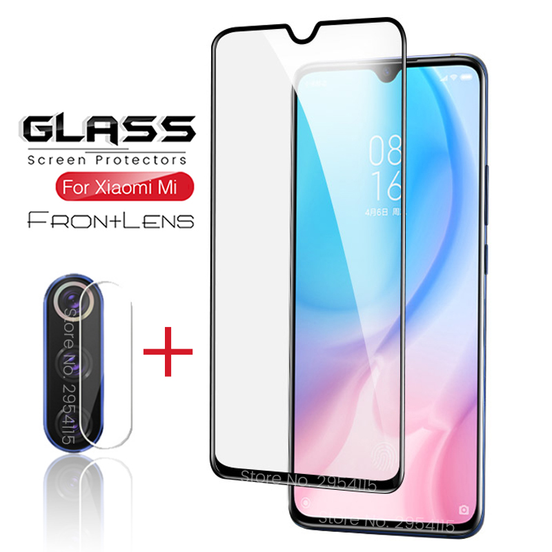 2-in-1 Camera Glass For Xiaomi Mi 9 Lite Screenprotector Glass For Xiaomi Mi 9 Se 9se 9lite Light Mi9 Mi9se Mi9lite Lens Film