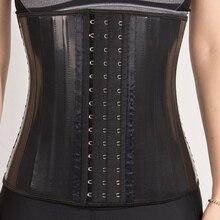 اللاتكس مدرب خصر مشد البطن حزام تنحيف محدد شكل الجسم النمذجة حزام 25 الصلب الجوفاء مشد للخصر Fajas كولومبي حزام