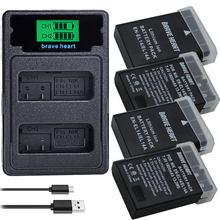 EN-EL14 ENEL14 ENEL14A EN EL14A EN EL14 EN-EL14a Battery for Nikon P7800,P7100,D3400,D5500,D5300,D5200,D3200,D3300,MH-24