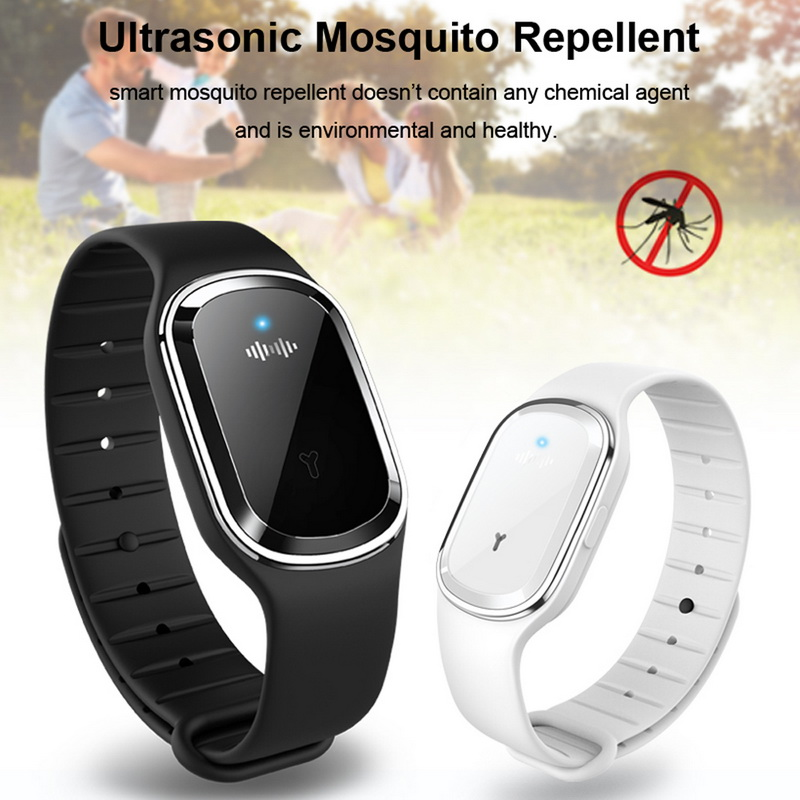 Ultrasonic Mosquito Repellent Wristband Pregnant Kids Anti Mosquito Killer Pest Repeller Protection Bracelet Musquito Killer