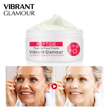 VIBRANT GLAMOUR Six Peptides Collagen Cream Face Serum To Repair Skin  Anti-Aging Wrinkle Whitening Brighten Moisturizing недорого
