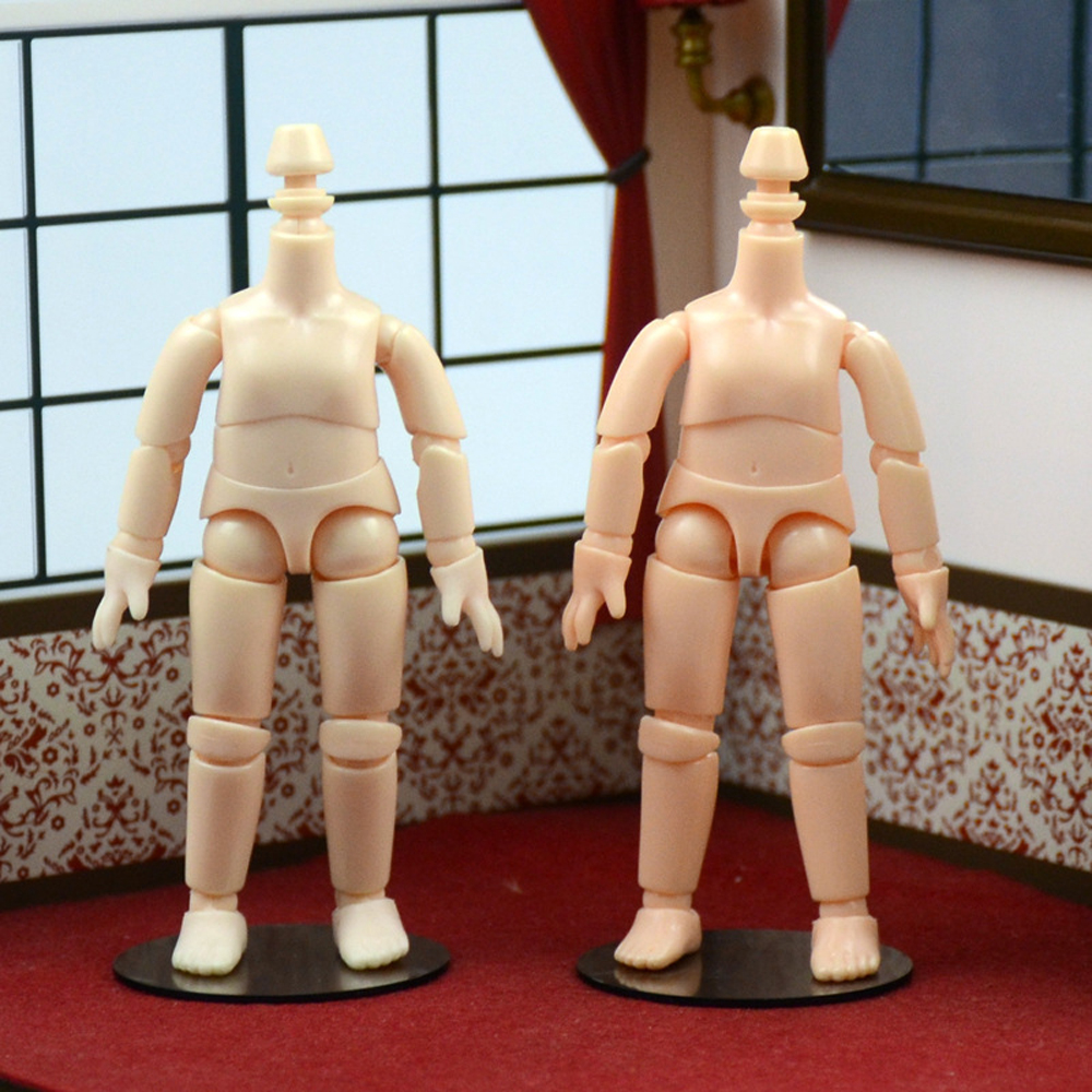 obitsu OB11 BJD 11CM Doll toys 19 joint Top Quality Chinese Doll BJD Ball Joint Doll toys with holder And hand group