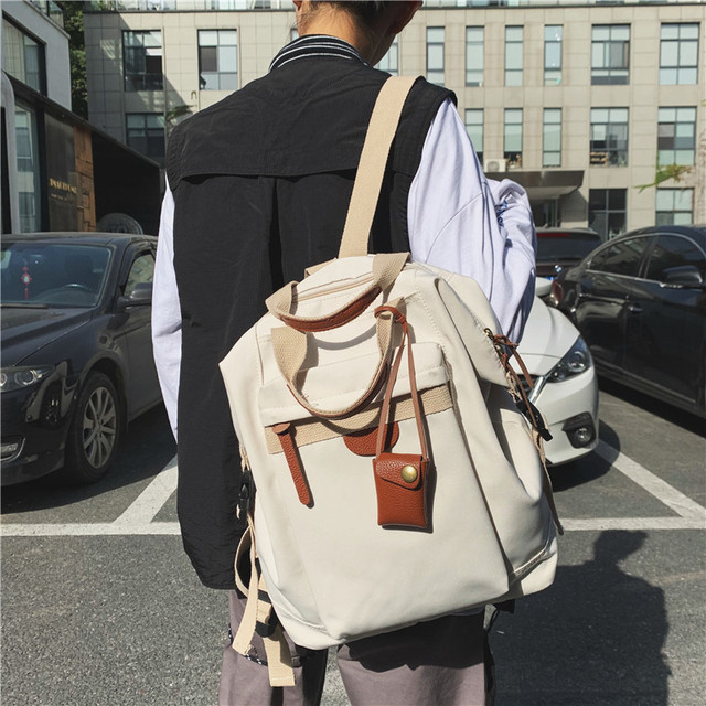 Fashion Women's backpack Students School Backpacks Female Travel Bag School bags for Teenager Girls Rucksack scoolbag Mochilas 3