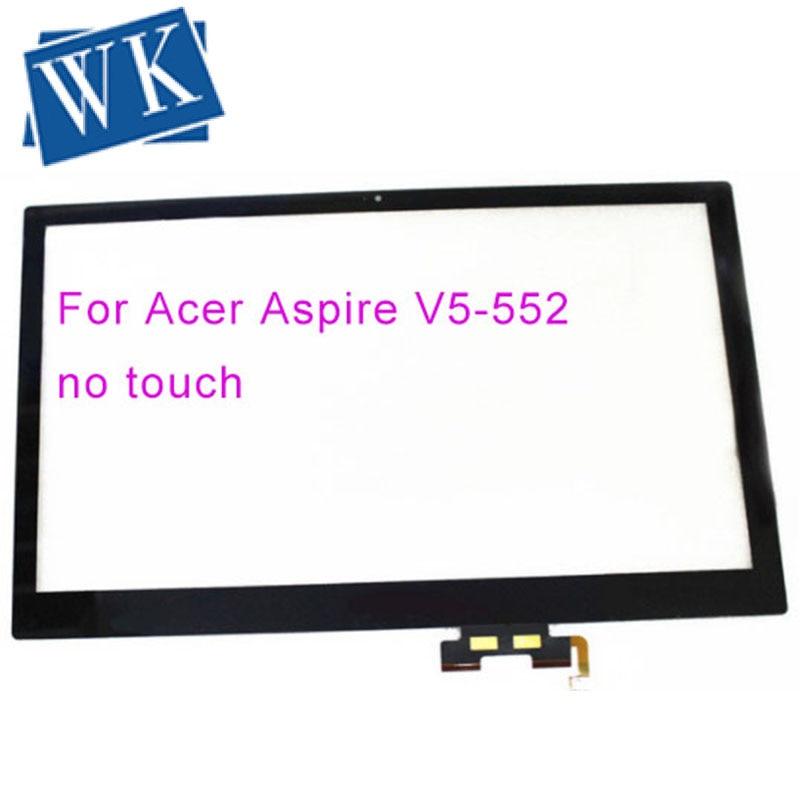 Bilgisayar ve Ofis'ten Dizüstü Bilgisayar LCD Ekran'de 15.6 ''dizüstü dokunmatik ekran sayısallaştırma paneli Acer Aspire V5 552 552PG V5 552P V5 572 572PG V5 573 V5 573P (dokunmatik çalışmaz) title=