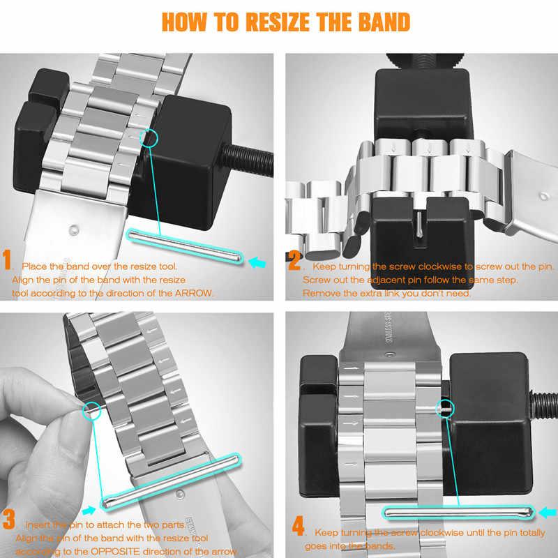 Benyar Horloge Mannen Set Horloges Doos Strap Removal Tool Met Originele Lederen Band Voor 22 Cm