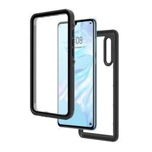 Image 5 - P30 Pro Waterdichte Case Voor Huawei P20 Pro Case IP68 Waterdichte Volledige Cover Voor Huawei P30 P20 Lite Mate 20 pro Duiken Coque