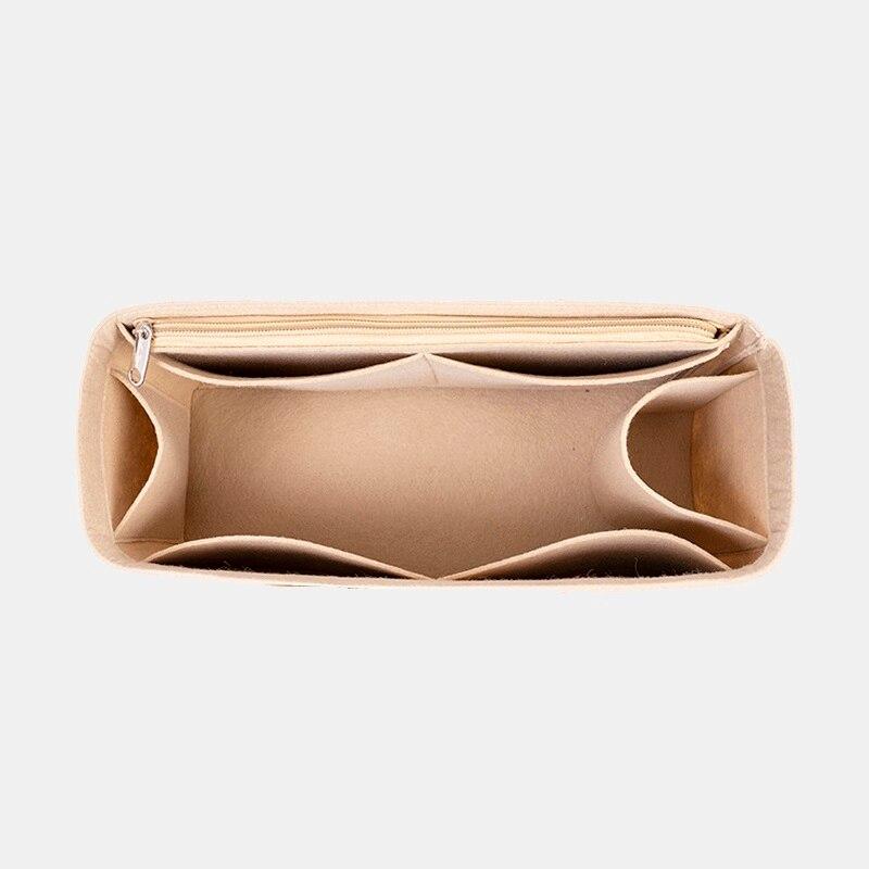 Fits For Goyard Tote Felt Cloth Insert Bag Organizer Makeup Handbag Organizer Travel Inner Cosmetic  Mommy Bags