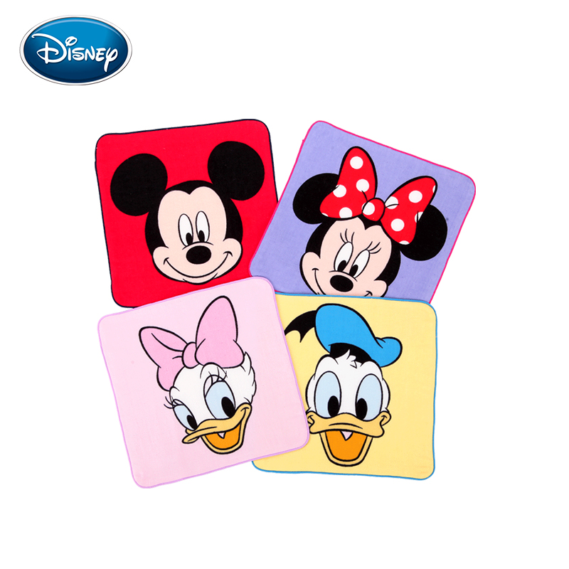 Disney Children Pure Cotton Towel Kindergarten Children Special-purpose Towel Wash One's Face Water Uptake Soft Children Towel